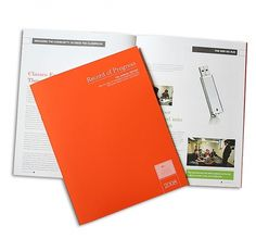 BGSU CBA Annual Report #annual #report #orange #college