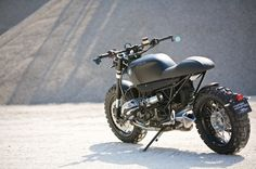 Twibfy #matte #off #bmw #black #road #simple #motorcycle