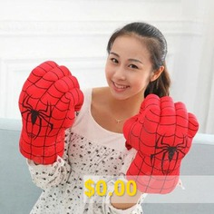 Plush #Toy #Boxing #Gloves #Child #Adult #Gloves #- #SPIDERMAN #(NEW)