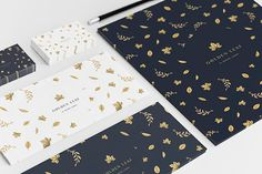 Alliteration Inspiration: Gold & Grains / on Design Work Life #golden leaf