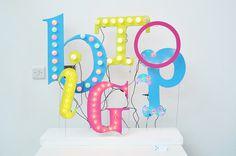 Big Top #bigtop #3d #student #typography