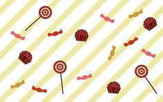 Ana - Ana #illustration #lollipop #cupcake #sweet
