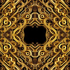Latest works on the Behance Network #background #patterns #gold