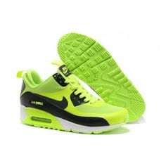 Nike Air Max 90 Shoes Mid No Sew Sneakerboots Ns Green