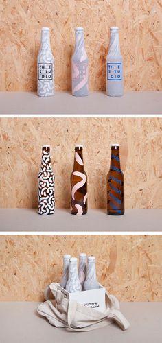 Förpackad -Blogg om Förpackningsdesign, Förpackningar, Grafisk Design » Tv-kanals-öl - CAP&Design - Nordens största tidning för kreat