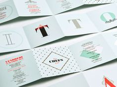 La Vittoria #brochure #typography
