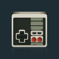 NES Controller by aparaats #controller #nintendo #icon #retro #snes #game