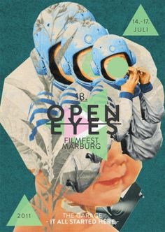 ›Open Eyes‹ Filmfest Marburg | Art Direction & Design on the Behance Network