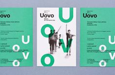Uovo Performing Art Festival on Behance #print #typography