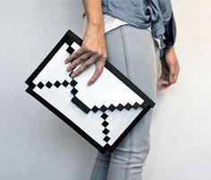 Big Big Pixel 8 Bit Sleeve #8 #packaging #bit #sleeve #envelope #pixels