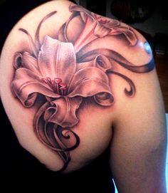 60 Beautiful Lily Tattoo Ideas