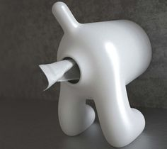 D.DOG Toilet Tissue Paper Holder #toilet #home