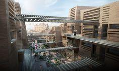 Haptic Architects: Mountain Eco Resort #architecture