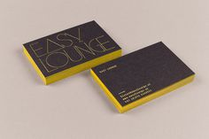 Easy Lounge | MOOI design #edge #coloring #business #card #print