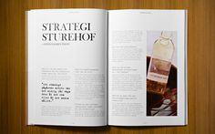 Budget_spread_2 #design #annual #report #layout #typography