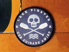 Lake Pirates! #logo #erick #patch #montes