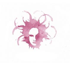 Medusa Wines Logo #medusa #head #wine #stain #logo #organic