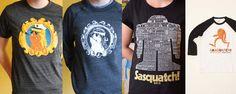 Sasquatch! Festival t-shirts