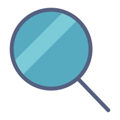 See more icon inspiration related to search, zoom, magnifying glass, loupe, detective and Tools and utensils on Flaticon.