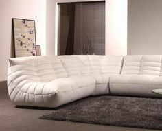 Ultra luxurious, the Togo Sofa is a sectional couch designed to give you extra comfort and style. #design #product #industrial #furniture #m