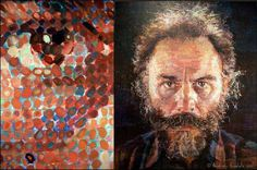 Diptych-ChuckClose+Lucas.jpg 1,600×1,061 pixels #chuck #close #painting