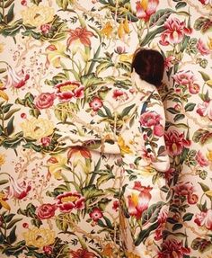FFFFOUND! | I need a guide: cecilia paredes #painting #florals #illusions #cecilia paredes