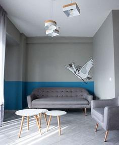 Square Design Interiors Decorated Doctor's Office Based on Scandinavian Aesthetics - InteriorZine