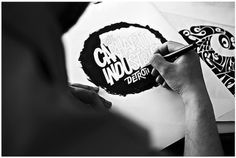 Carhartt Brandbook 2012 - Interview by Chaz Bojorquez | Flickr - Photo Sharing! #lettering #hand #typography