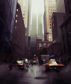 Cityscape on Behance #illustration