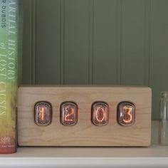 Nixie Epoch Clock #tech #flow #gadget #gift #ideas #cool