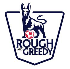 Premier league logo rendition with my dog penny #logo #logo design #soccer #barclays #premier #premier league #rough and greedy