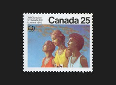 Olympic Ceremonies Stamps - Canada Modern