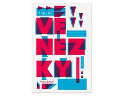 Monina Velarde #green #red #typography