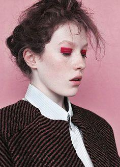 Ballad Of — Article #portrait #photo #make up