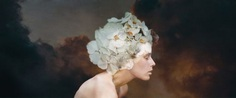 Mesmerizing Fine Art and Melancholy Self-Portraits by Laura Zalenga