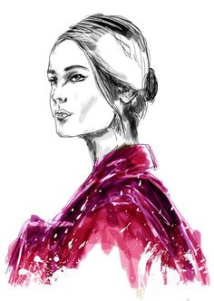 Mateusz Suda for Valentino #suda #mateusz #illustrator #design #graphic #illustrations #poland #art #fashion