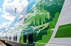 Kustaa Saksi #brand #train #illustration #design