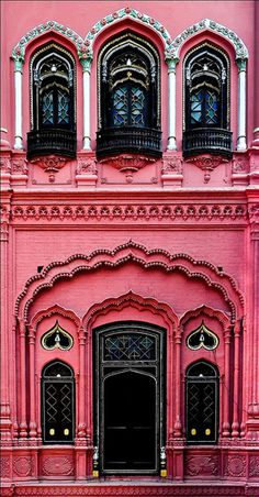 #pink #architecture #facade