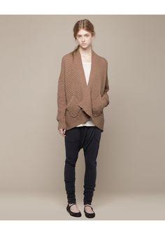 TSUMORI CHISATO / WAFFLE KNIT CARDIGAN #fashion #women