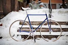 convoy #fixie #minimal #winter