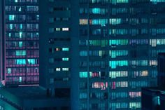 Cinematic and Dystopian Nightscapes by Elsa Bleda