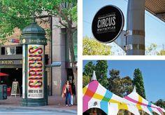 Nathan Godding #design #circus #brand #colorful #student