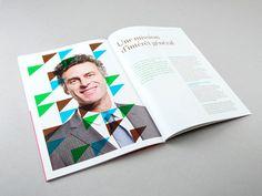 cheval vert via www.mr cup.com #branding #geometric #spread #triangle #spready