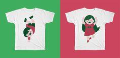 Promotional t-shirts for Campo de Ferias (Sports Camp) by Gen Design Studio