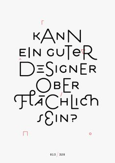 Jan König explores the meaning of design with a syncopated Estilo.