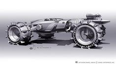 Tron: Legacy | Light Runner Design by Daniel Simon #animation #movie #tron #3drender #3dmodeling #legacy #runner #disney #film #light #3d
