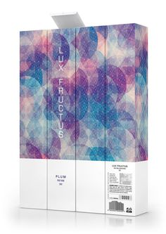 CUBEN Space / Lux Fructus: Fruit Wine Packaging on Behance #graphic design #packaging