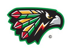 #mascot #logo #mikebruner #hawk #warrior #sioux #UND