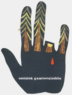 Designersgotoheaven.com  Environmental poster by Unknown. #tree #hand #poster