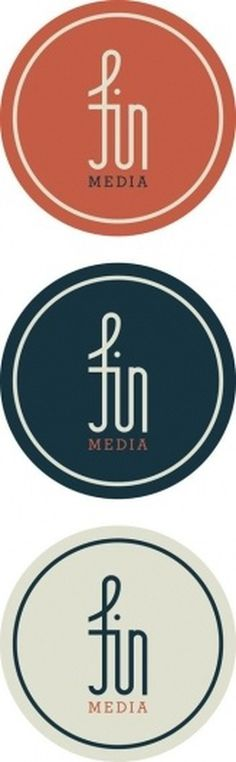 Fin Media on the Behance Network #logo #visual #identity #branding